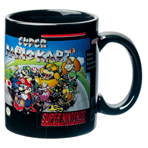 Taza SNES: Super Mario Kart 320ml