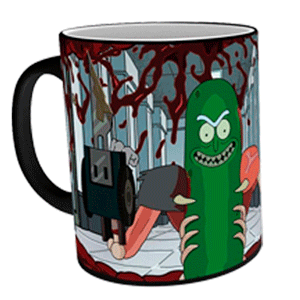 Taza Termosensible Rick y Morty: Rickynillo