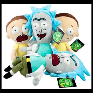 Surtido Peluches Rick y Morty