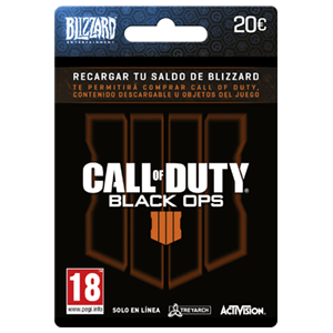 Pin Blizzard COD Black Ops 4  20 Euros