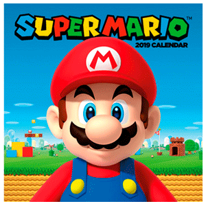 Calendario 2019: Super Mario