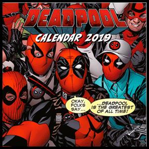 Calendario 2019: Deadpool