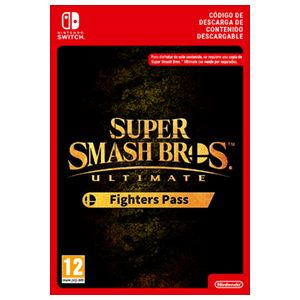 Super Smash Bros Ultimate Fighter Pass NSW