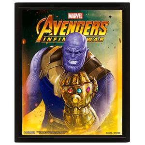 Cuadro 3D Vengadores Infinity War: Thanos