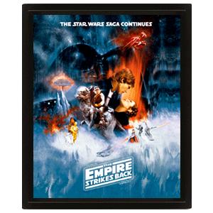 Cuadro 3D Star Wars: Empire Strikes Back