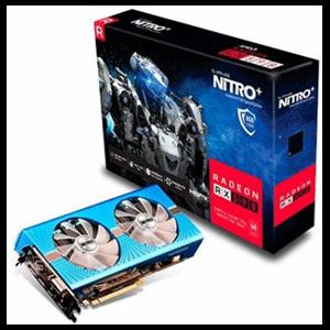 Sapphire Nitro+ Radeon RX 590 Especial Edition 8GB GDDR5 - Tarjeta Gráfica Gaming