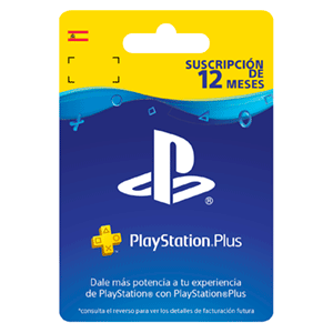Playstation Plus - Suscripción de 12 Meses - BF 18