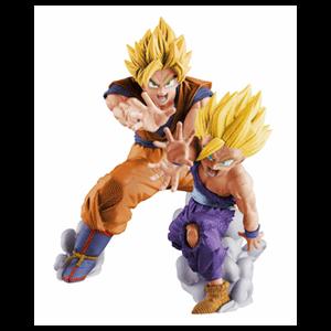 Figura Banpresto Dragon Ball: Goku y Gohan