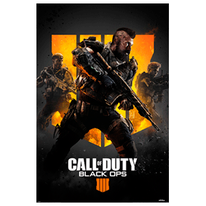 Póster Call of Duty Black Ops 4