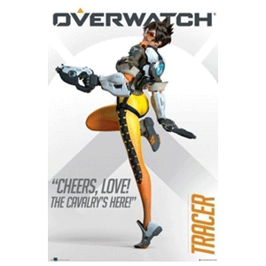 Póster Overwatch Tracer