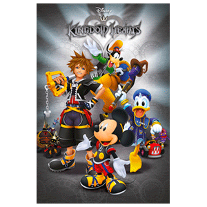 Póster Kingdom Hearts