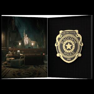 Official Resident Evil RPD Pin Badge
