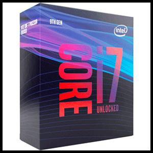 Intel Core i7-9700K 8 núcleos 8 hilos LGA1151 - Microprocesador