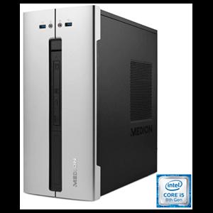 MEDION M80 - i5-8400 - GTX 1050 2GB - 8GB - 1TB HDD + 128 GB SSD  - W10 - Sobremesa Gaming