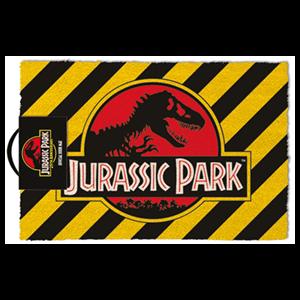 Felpudo Jurassic Park: Warning