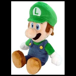 Peluche Nintendo: Luigi 24cm