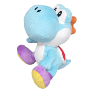 Peluche nintendo: Yoshi Azul 17cm