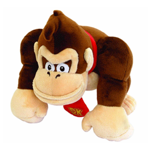 Peluche Nintendo: Donkey Kong 21cm