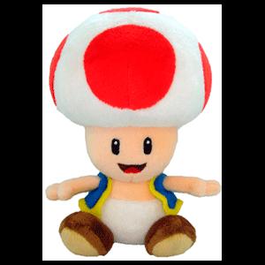 Peluche nintendo: Toad Rojo 20cm