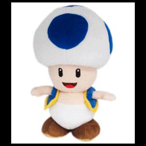 Peluche nintendo: Toad Azul 20cm