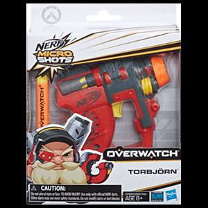 Pistola Nerf Microshots Overwatch: Torbjorn