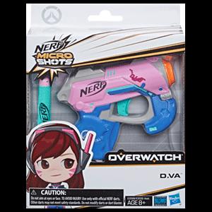 Pistola Nerf Microshots Overwatch: D.Va