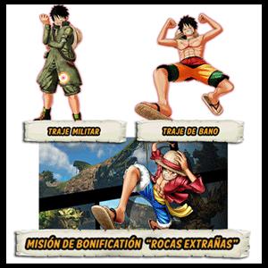 DLC  Mision + 2 trajes One Piece World Seek PS4