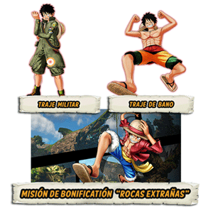 DLC  Mision + 2 trajes One Piece World Seek XONE