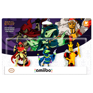 Shovel Knight: Treasure Trove - Pack de 3 Figuras Amiibo