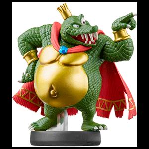 Figura amiibo Smash King K. Rool