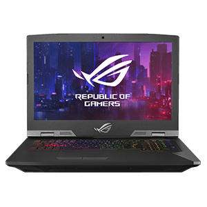 ASUS ROG G703GX-E5001T - i7-8750H - RTX 2080 8GB - 32GB - 1TB HDD + 512GB SSD - 17,3'' FHD 144Hz - W10 - Portátil Gaming