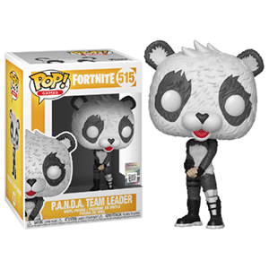 Figura Pop Fortnite S3: PANDA Team Leader