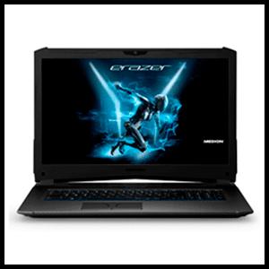 """MEDION  X7861 - i7-8550H - GTX 1070 8GB -16GB -1TB HDD + 256GB SSD - 17,3"""" FHD - W10 - Portátil Gaming - Reacondicionado"""