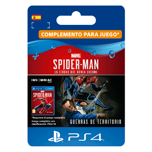 Marvel's Spider-Man: Guerras de Territorio PS4