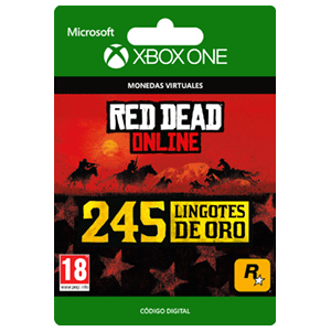 Red Dead Redemption 2: 245 Gold Bars XONE
