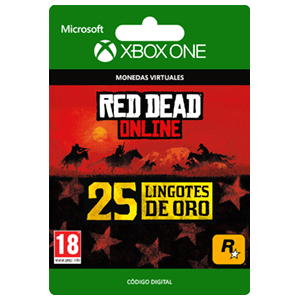 Red Dead Redemption 2: 25 Gold Bars XONE