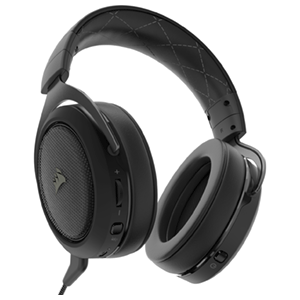 Corsair HS70 7.1 Wireless Carbon PC-PS4 - Auriculares Gaming