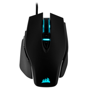 Corsair M65 ELITE RGB  Black 18000 DPI - Ratón Gaming