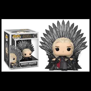 Figura Pop Juego de Tronos: Daenerys en el Trono de Hierro