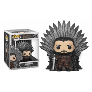 Figura Pop Juego de Tronos: Jon Nieve en el Trono de Hierro
