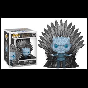 Figura Pop Juego de Tronos: Rey de la Noche en el Trono de Hierro