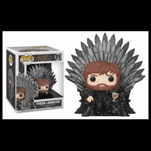 Figura Pop Juego de Tronos: Tyrion Lannister de la Noche en el Trono de Hierro