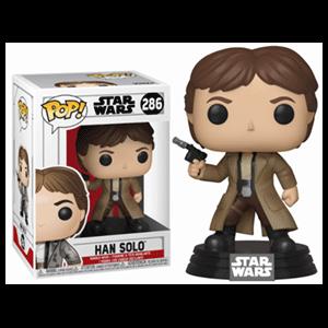 Figura Pop Star Wars: Han Solo en Endor