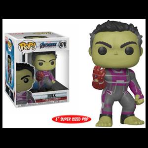"Figuras Pop Vengadores Endgame: Hulk con Guantelete 6"""