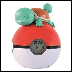 Reloj Despertador Pokemon Squirtle (REACONDICIONADO)