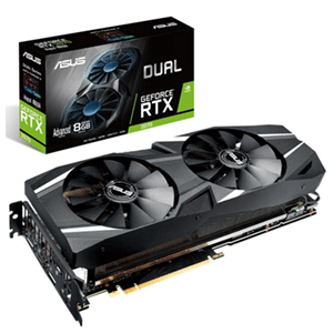 ASUS Dual GeForce RTX 2070 Advanced Edition 8GB GDDR6 - Tarjeta Gráfica Gaming