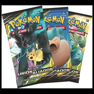 Sobre 10 Cartas Pokemon Sol y Luna: Unión de Aliados