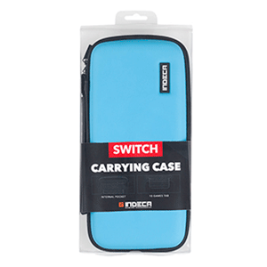 Bolsa Switch Azul Neón Indeca Gaming 2019