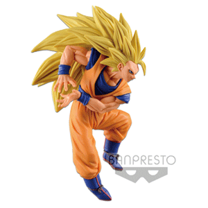 Figura Banpresto Dragon Ball Super: Goku SSJ3 Colosseum 6 Vol.6 13cms