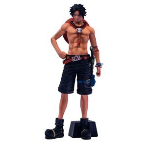 Figura Banpresto One Piece: Portgas D Ace Grandista 28cms